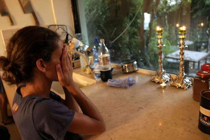 Shabbat candles (Photo by Yoray Liberman/Getty Images)