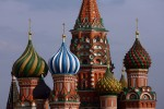 Cathedral of Saint Basil on the Red Square in Moscow, Russia. (Photo by Julian Finney/Getty Images)