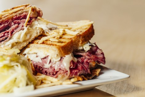 Corned Beef and Pastrami Sandwich (Photo: Cameron Whitman/iStock)