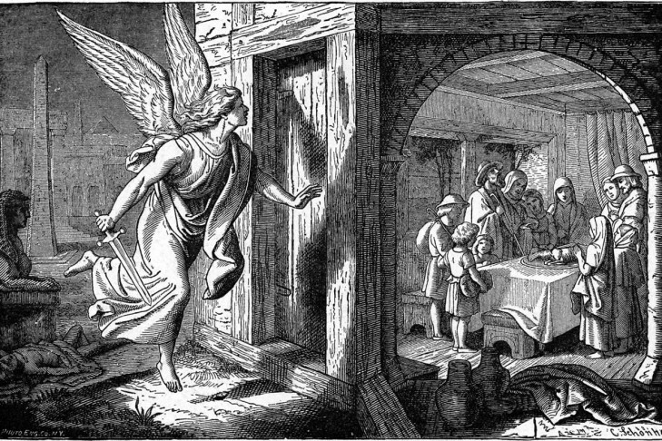 The Angel of Death and the First Passover