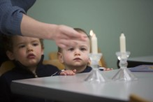 Shabbat chandles 3