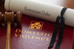 Gavel and restraining order against domestic violence (Photo: stocknshares/iStock)