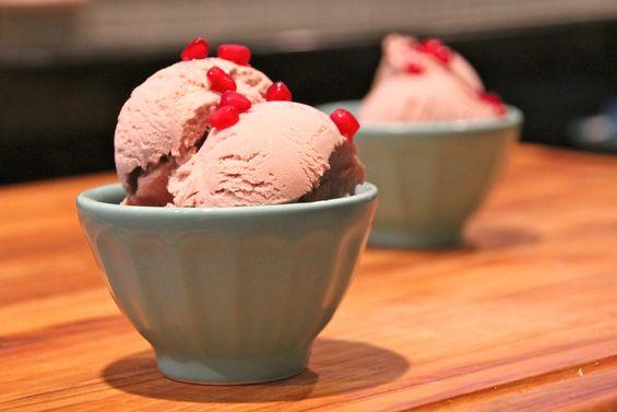 Chosen Eats: Rosh Hashanah Recipe – Pomegranate Ice Cream