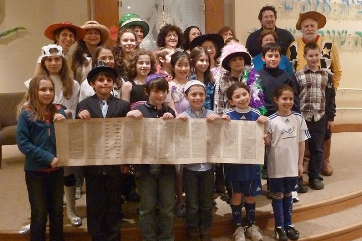 purim 2012 megillah readers