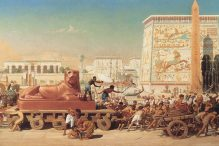 """Israel in Egypt"" by Edward Poynter"
