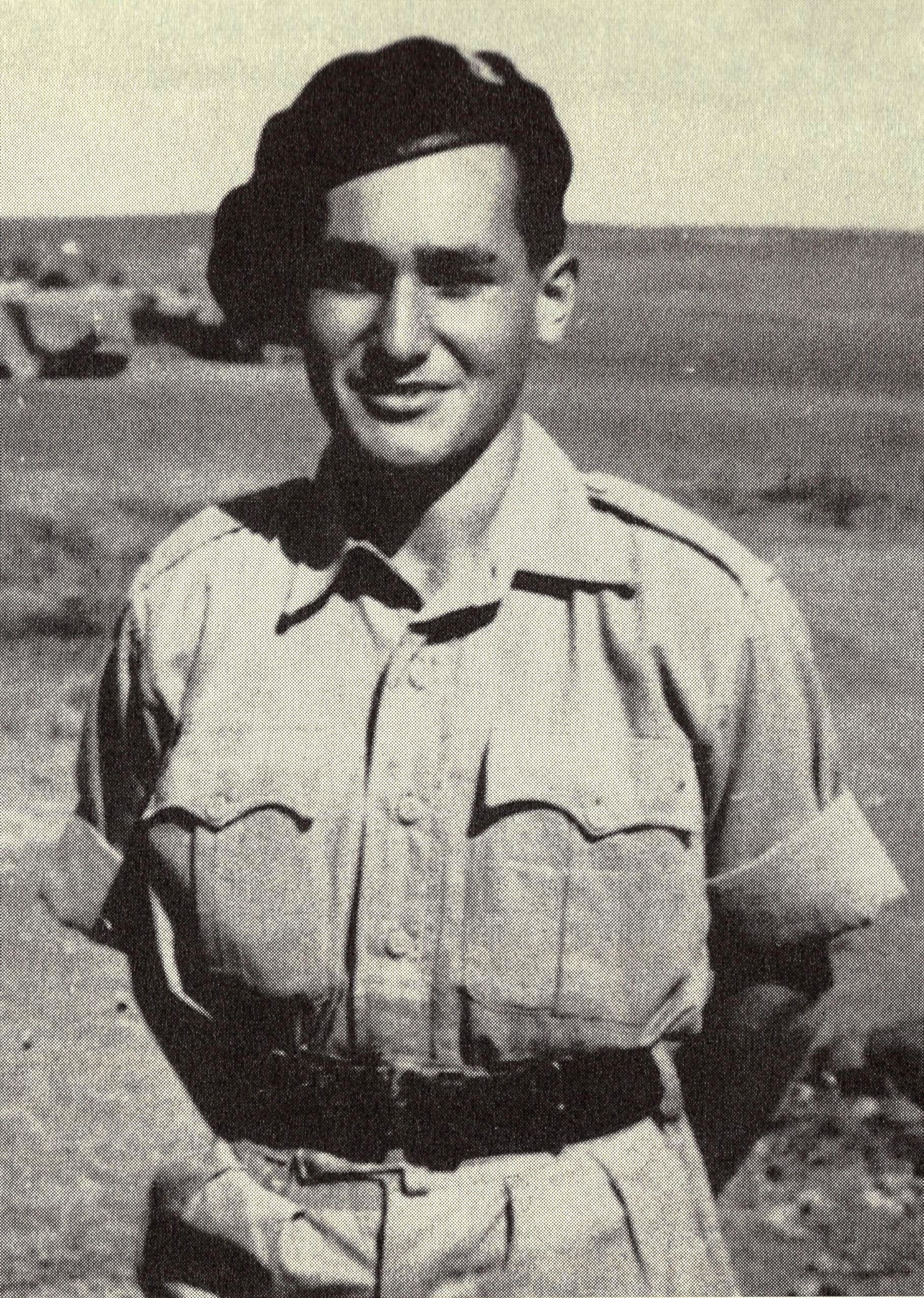 Julian Bussgang in Ander's Army 1943.