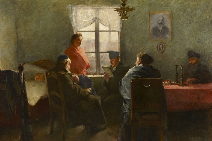Samuel Hirszenberg: The Sabbath Rest, 1894