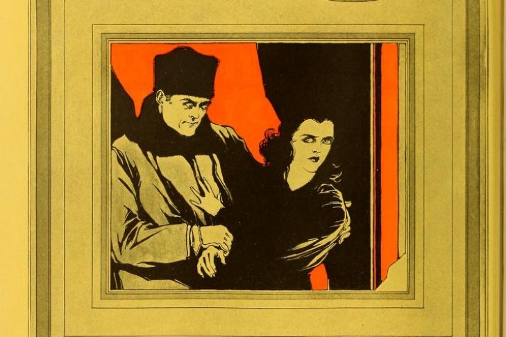 Advertisement in The Moving Picture World for the film The Yellow Ticket (1918).