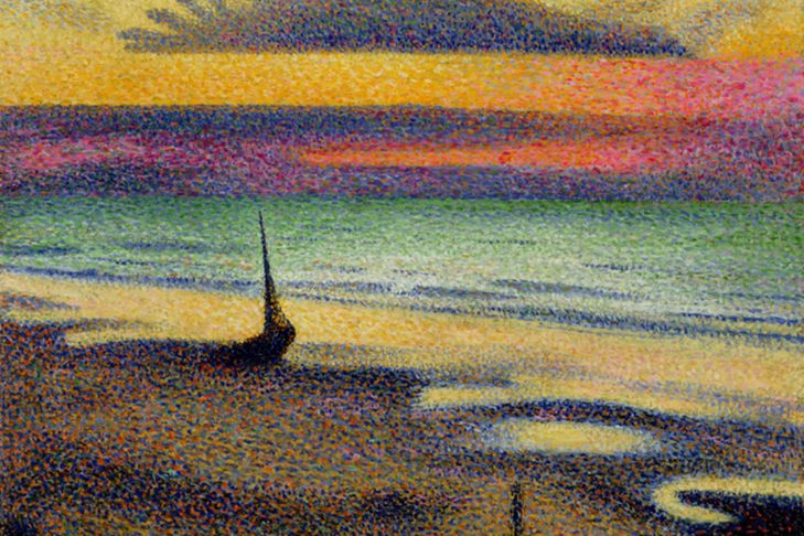 Georges Lemmen, The Beach at Heist, 1891