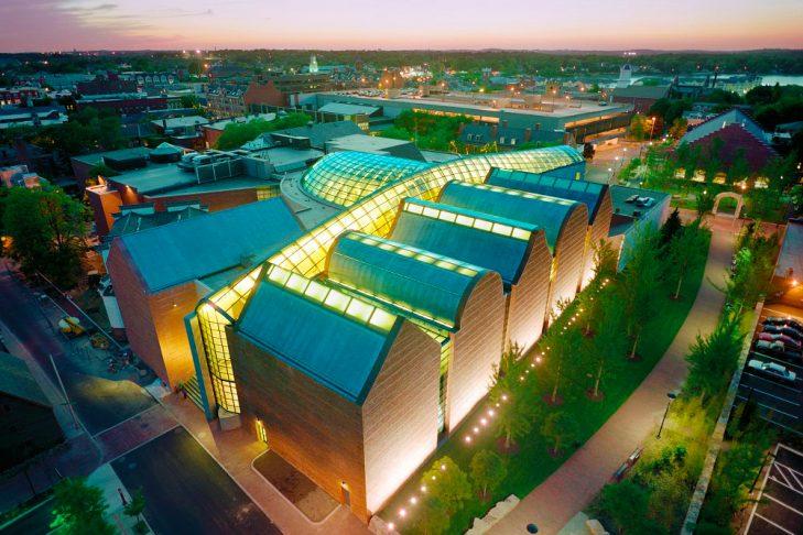 The Peabody Essex Museum in Salem (Photo credit: Timothy Hursley)