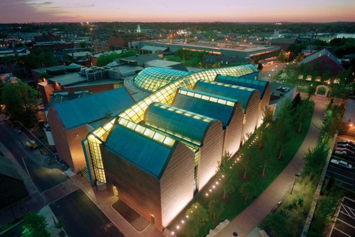 The Peabody Essex Museum in Salem (Photo credit: Timothy Hursley)