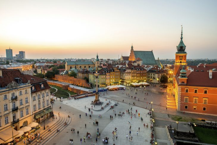 Warsaw's Old Town (iStock.com/RossHelen)