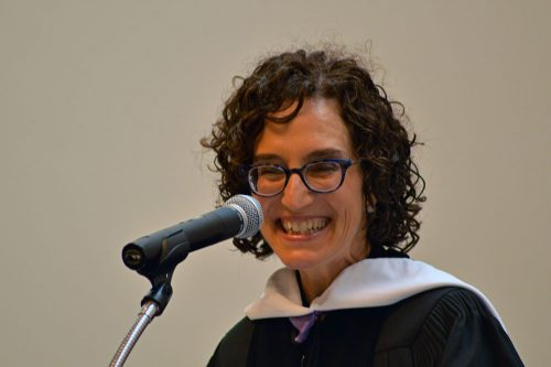 2016 Hebrew College Commencement Keynote Speaker, Jane Eisner – Photo Credit Zachary Sherman -lowres
