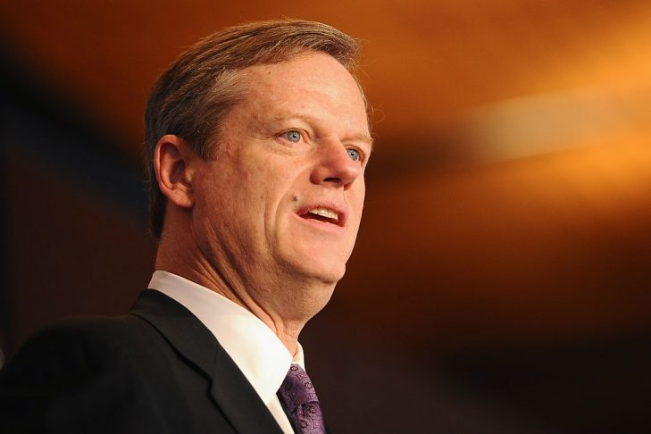 Gov. Charlie Baker (Photo credit: Maddie Meyer/Getty Images for the USOC)