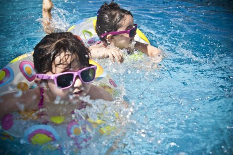 Children Swimming