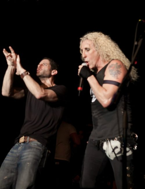 Dee Snider of Twisted Sister with Rabbi Leigh Darby (Photo: PopJewish.com)
