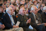 The 2015 Yom HaShoah commemoration in Boston, Massachusetts, organized by the Jewish Community Relations Council of Greater Boston (courtesy)