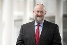 Rabbi Daniel Lehmann (Courtesy Hebrew College)