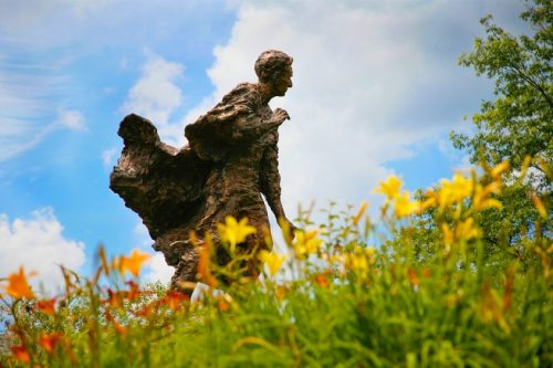 Brandeis Statue