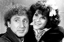 Gene Wilder with Gilda Radner, 1986. The couple married in September 1984. Radner died of ovarian cancer in 1989. (Wikimedia)