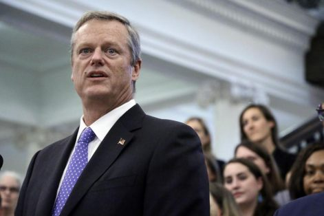 Governor Charlie Baker's first overseas trade mission will be to Israel in December. (ELISE AMENDOLA/ASSOCIATED PRESS)