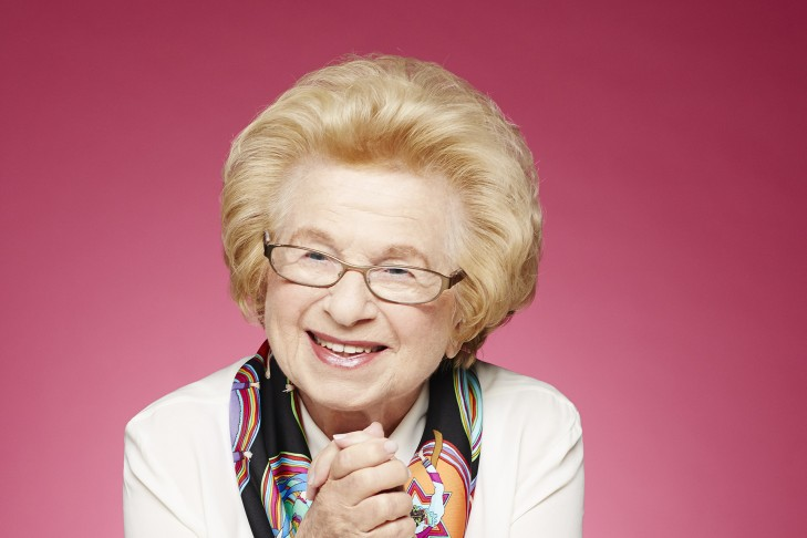 Dr. Ruth Westheimer (Courtesy Amazon Publishing)