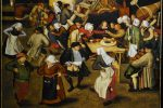 Wedding Dance in a Barn by Pieter Brueghel the Younger