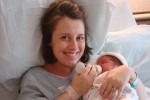 Kara and her first son, Andy.