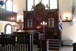 Historic Etz Chaim Synagogue built in the 1920's. (LOREN KING FOR THE BOSTON GLOBE)