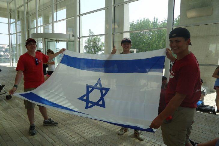 proudly-displaying-flag-of-israel