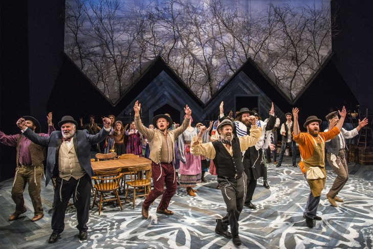"""The cast of """"Fiddler on the Roof"""" (Photo: Andrew Brilliant/Brilliant Pictures)"""