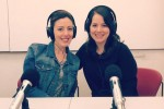 Liana Mitman, left, and Rabbi Danielle Eskow of ShalomLearning.org.