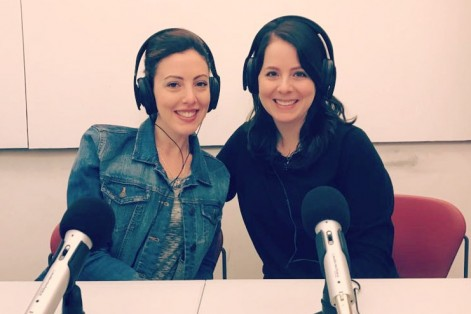 Liana Mitman, left, and Rabbi Danielle Eskow of ShalomLearning.com and co-founder of Online Jewish Learning