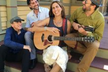 Vanessa Trien and The Jumping Monkeys includes, from left, Richard Gates, Fabio Pirozzolo, Vanessa Trien and Adam Rothberg. (Photo: Adam Rothberg)