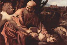 Sacrifice of Isaac, Caravaggio, 1603