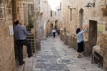 Or Ha-Hayim Street in the Jewish Quarter of the Old City in Jerusalem (Photo:  jcarillet/iStock)