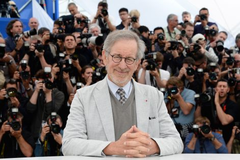 Steven Spielberg at the Cannes Film Festival. (Photo by Pascal Le Segretain/Getty Images)