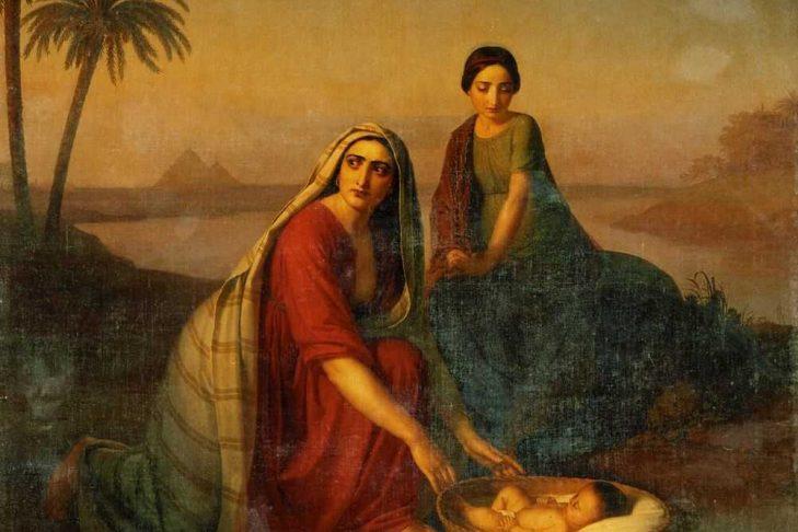 A painting of Miriam by  Alexey Tyranov