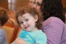 Shabbat Mom and Daughter
