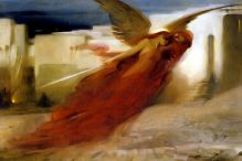Passover painting: And There Was a Great Cry in Egypt (Arthur Hacker, 1897)