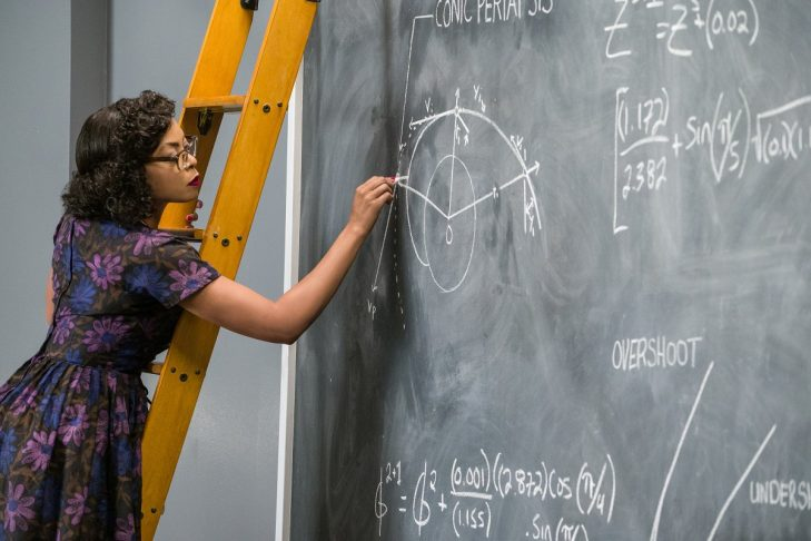 "Taraji Henson as NASA physicist and mathematician Katherine Johnson in ""Hidden Figures"" (Promotional still)"