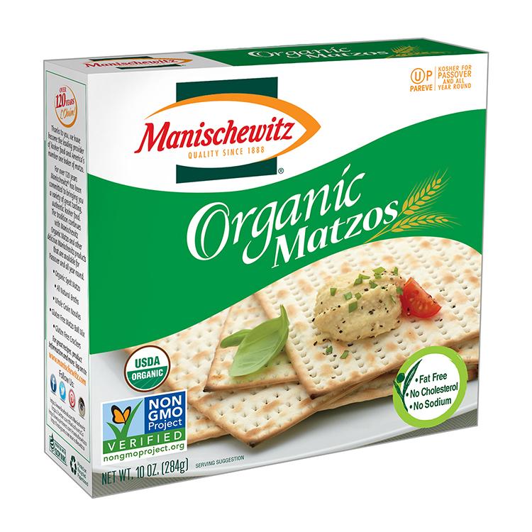 Manischewitz Organic Matzos