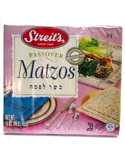 Streit's Passover Matzos