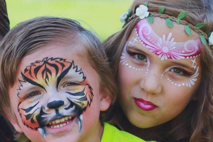 facepainting 2 kids