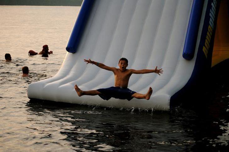split water slide smaller files size