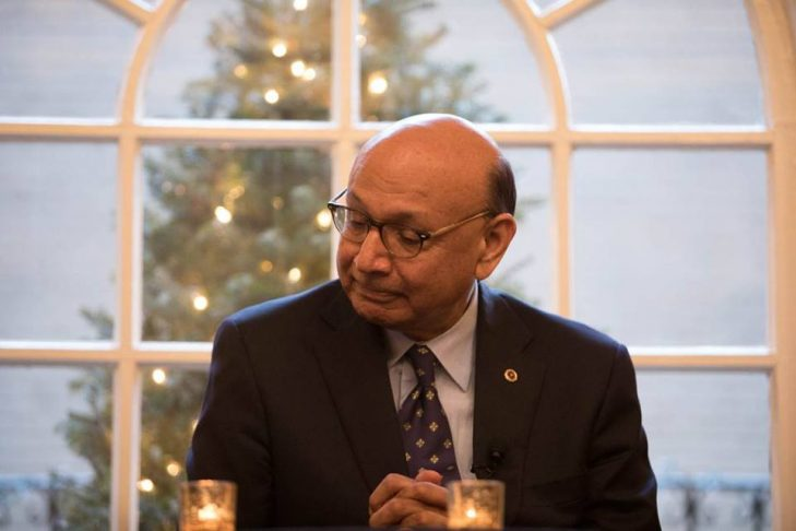 Khizr Khan (Courtesy Anti-Defamation League)
