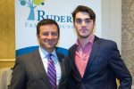 "Jay Ruderman, left, with R.J. Mitte, an actor with cerebral palsy who starred on the hit TV show ""Breaking Bad."" (Courtesy of the Ruderman Family Foundation)"