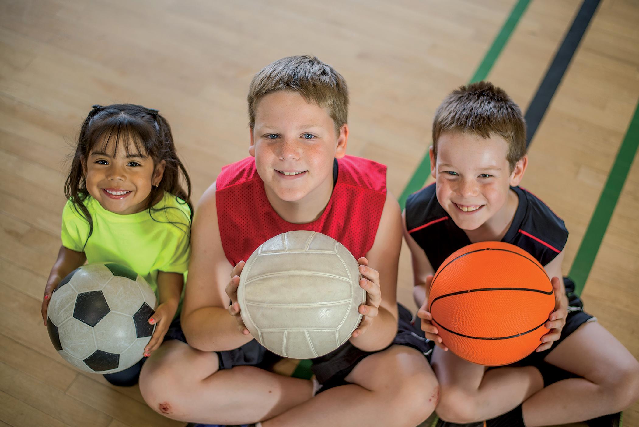 Дети спорт школа картинки