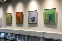 Sophia C. Mone's artwork is on display at Daniel's Art Gallery through June 15.