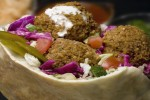 Early Zionists adopted Palestinian dishes such as falafel (Credit: Photostock Israel/Getty Images)